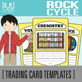 Rock Cycle Science Trading Cards