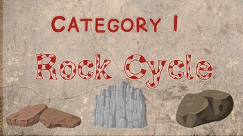 Rock Cycle, Soil & Fossils GAME ON Review (Jeopardy-style)