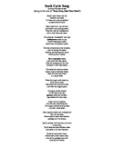 Rock Cycle Song (Sung to the tune of Row, Row, Row Your Boat)
