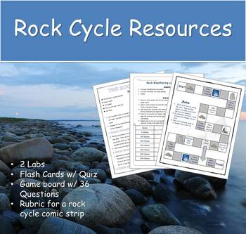 Rock Cycle Supplemental Material (Bundled)
