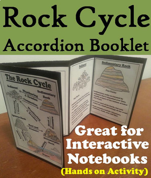 Rock Cycle Task Cards and Activities Bundle
