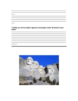 Rock Cycle Test 2