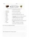 Rock Cycle Vocab Quiz