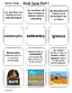 Rock Cycle Vocabulary Mini Bundle