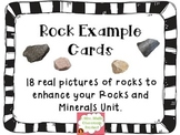 Rock Example Cards