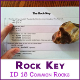 Rock Identification Key - 18 igneous, metamorphic, and sed