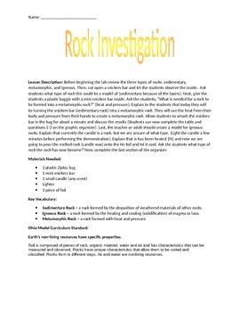 Rock Investigation