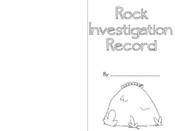 Rock Investigation Station Booklet