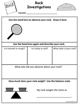 rock investigations by donna walker teachers pay teachers. Black Bedroom Furniture Sets. Home Design Ideas