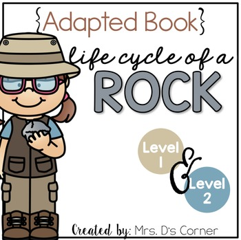 Rock Life Cycle Adapted Book ( Level 1 and Level 2 ) Life Cycle of a Rock