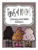Rock Literacy and Math Centers