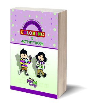 Rock & Mineral Coloring & Activity Book