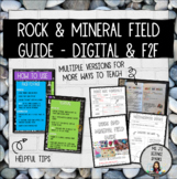Rock & Mineral Field Guide: A Guided Project for Digital & F2F