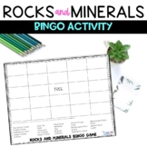 Types of Rocks and Minerals Review Game