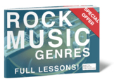 Rock Music Genres – FULL LIBRARY