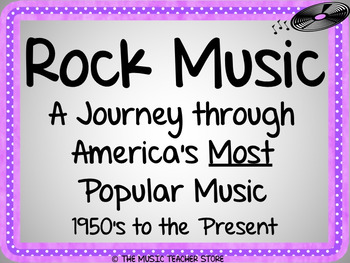 ROCK AND ROLL: AMERICA'S POPULAR MUSIC POWERPOINT PRESENTATION