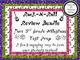 Rock-N-Roll 3rd Grade Review Game Bundle Pack for GA Milestones