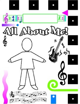 Rock-N-Roll All About Me Booklet Cover