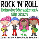 Rock 'N' Roll Rockstar {Chevron} Behavior Clip Chart and B