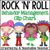 Rock 'N' Roll Rockstar {Chevron} Behavior Clip Chart and B