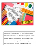 FREE SHELVED-Back to School Funny Story with School Supply