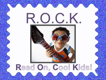 Beginning of the Year  Back to School Rock 'N Roll Classroom Signs and Posters