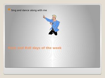 Rock N Roll Days of the Week