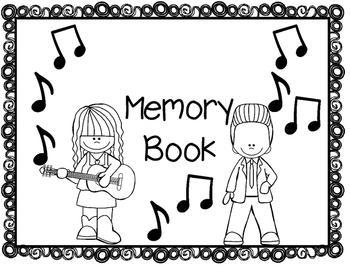 Rock -N- Roll Memory Book