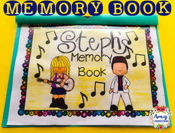 Rock -N- Roll Memory Book