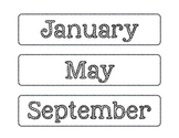 Rock N Roll Months of the Year