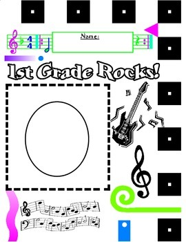 Rock-N-Roll Pattern: First Grade Rocks