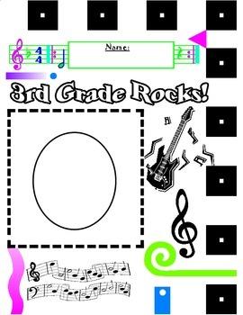 Rock-N-Roll Pattern: Third Grade Rocks