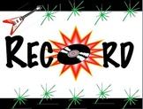 Rock 'N Roll Theme Behavior Board