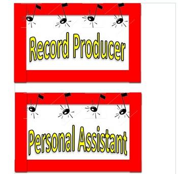 Rock 'N Roll Theme Job Board