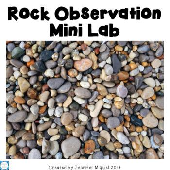 Scientific Method: Rock Observation Lab