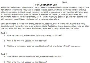 Rock Observation Lab