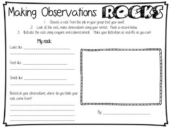 Rock Observations