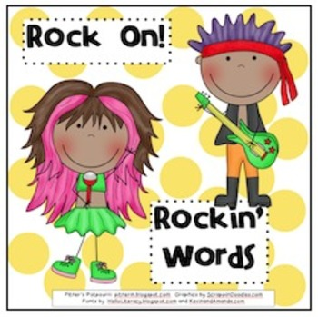 Rock On! Word Game