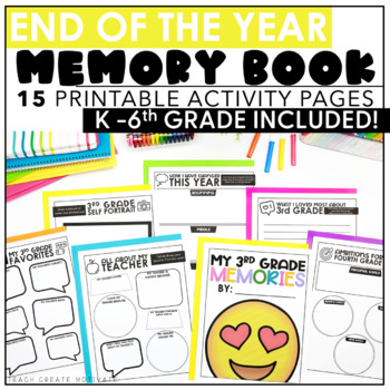 Rock On to 4th Grade! {Print&Go Activities for the End of the Year}