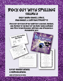 Rock Out With Spelling 2, Sight Word Songs, Mini-books Writing Prompts