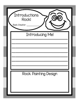 Rock Painting/ Hiding Introduction Activity