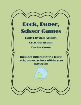 Rock, Paper, Scissor Games