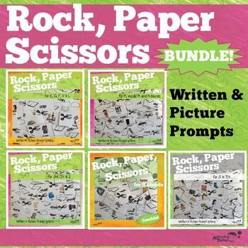 Fun Articulation Games: Rock Paper Scissor BUNDLE