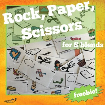Rock, Paper, Scissor for S blend articulation