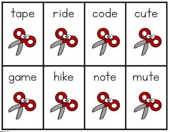 Rock, Paper, Scissors- A CVCe Word Game