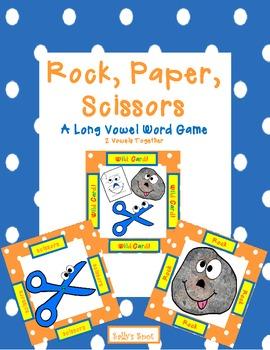 Rock Paper Scissors - A Long Vowel Word Game