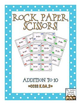 Rock, Paper, Scissors: Addition to 10