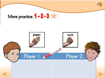 Rock Paper Scissors - Animated Step-by-Step Game - Regular