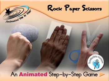 Rock Paper Scissors - Animated Step-by-Step Game - SymbolStix