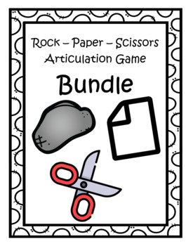 Rock Paper Scissors Articulation Bundle